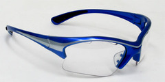 Black Knight Stiletto Eyewear (Blue)