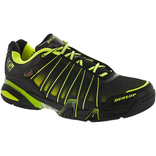 Dunlop Ultimate Tour Indoor Men's Shoe (Black/Green)