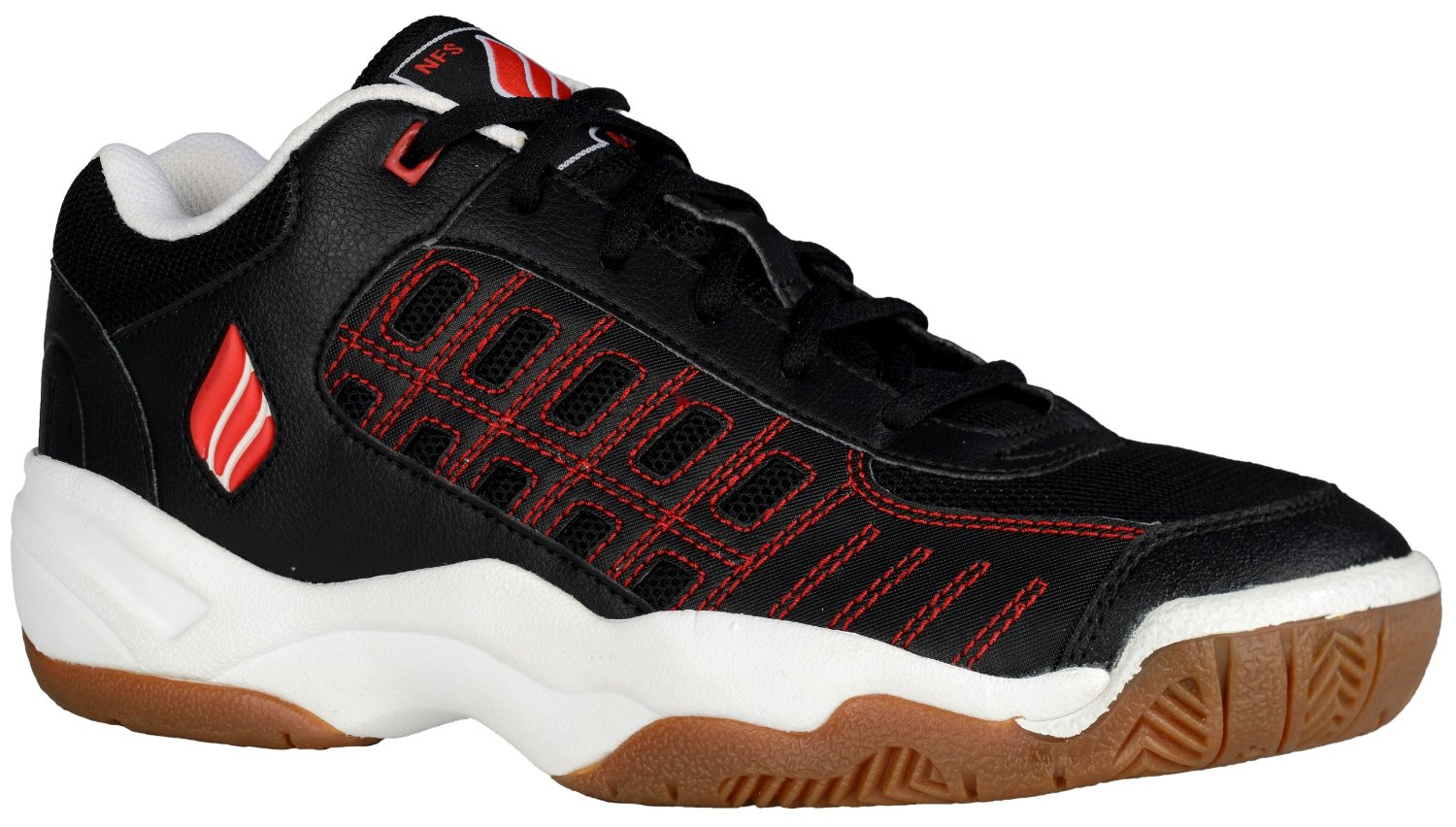 Ektelon NFS Classic II Indoor Men's Shoe (Black/White/Red) - ONLY SIZE 7 LEFT IN STOCK