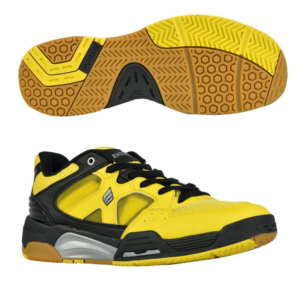 Ektelon NFS Attack Low Indoor Men's Shoe (Yellow/Black)