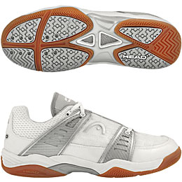 Head Eclipse Men's Shoe (White/Silver) - ONLY SIZE 7 LEFT IN STOCK