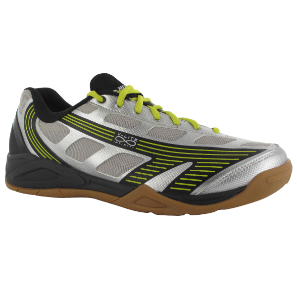 Hi-Tec V-Lite Infinity 4:SYS Men's Shoe (Silver/Black/Yellow)