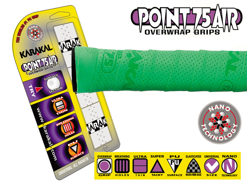 Karakal Point 75 Air Overwrap
