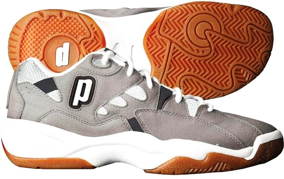 Prince NFS Indoor II Men's Shoe (Grey/White/Black) - ONLY SIZE 5.5 & 6 LEFT IN STOCK