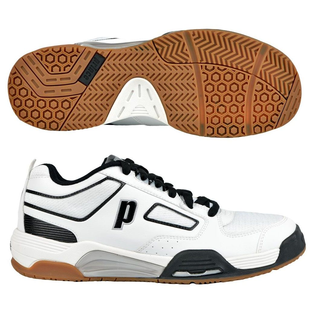 Prince NFS Assault Indoor Men's Shoe (White/Black)