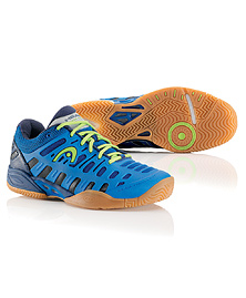 Head Speed Pro II Lite Indoor Men's Shoe (Blue/Lime)