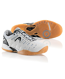 Head Speed Pro II Lite Indoor Men's Shoe (White/Black) - ONLY SIZE 8 LEFT IN STOCK