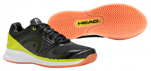 Head Sprint Pro Indoor Men's Shoe (Black/Lime)