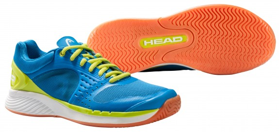 Head Sprint Pro Indoor Men's Shoe (Blue/Lime)