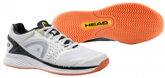 Head Sprint Pro Indoor Men's Shoe (White/Black)