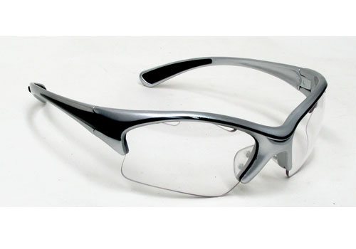 Black Knight Stiletto Eyewear (Silver)