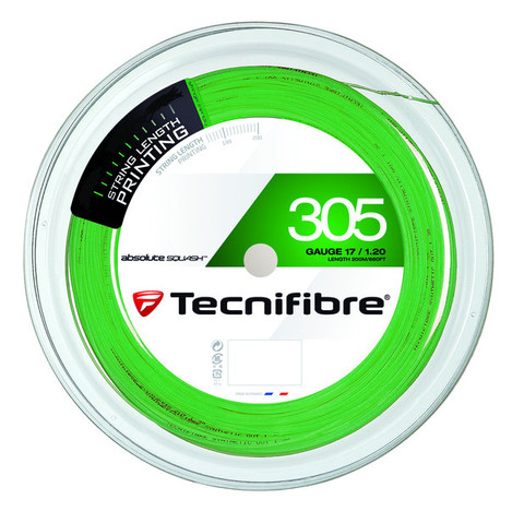 Tecnifibre 305 1.20mm/17 Gauge 360 ft Reel