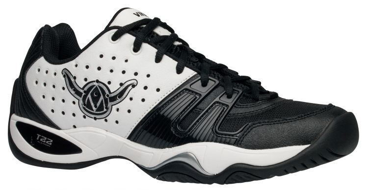 Viking T22 Men's Platform Tennis Shoe (White/Black) - ONLY SIZE 8 LEFT IN STOCK