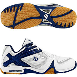 Wilson Court Elite 1000 Low Indoor Men's Shoe - ONLY SIZE 7.5 LEFT IN STOCK