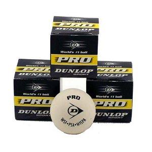Dunlop Rev Pro White balls - 3 Pack